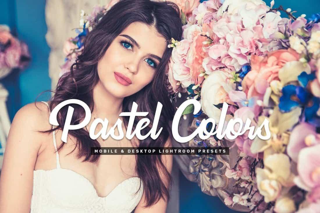 Pastel Colors Mobile & Desktop Lightroom Presets