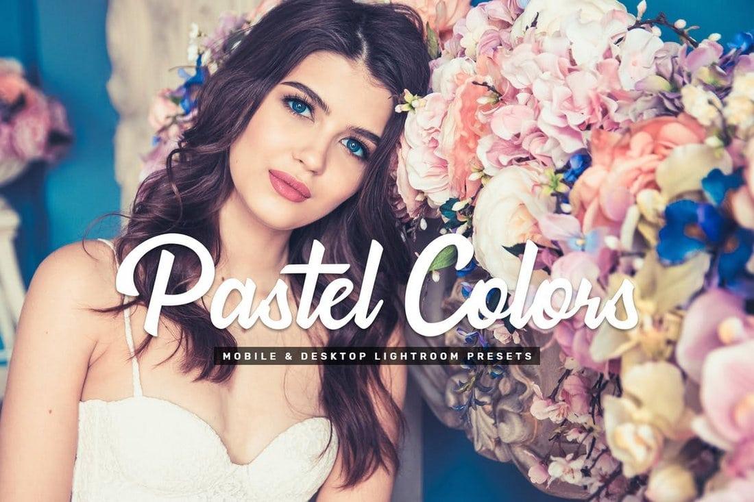 Pastel Colors Stylish Lightroom Presets
