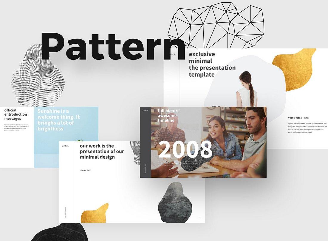 Pattern - Free Keynote Presentation Template