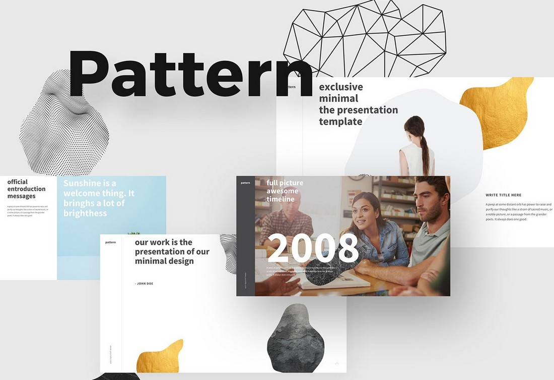 Pattern - Free Modern PowerPoint Template