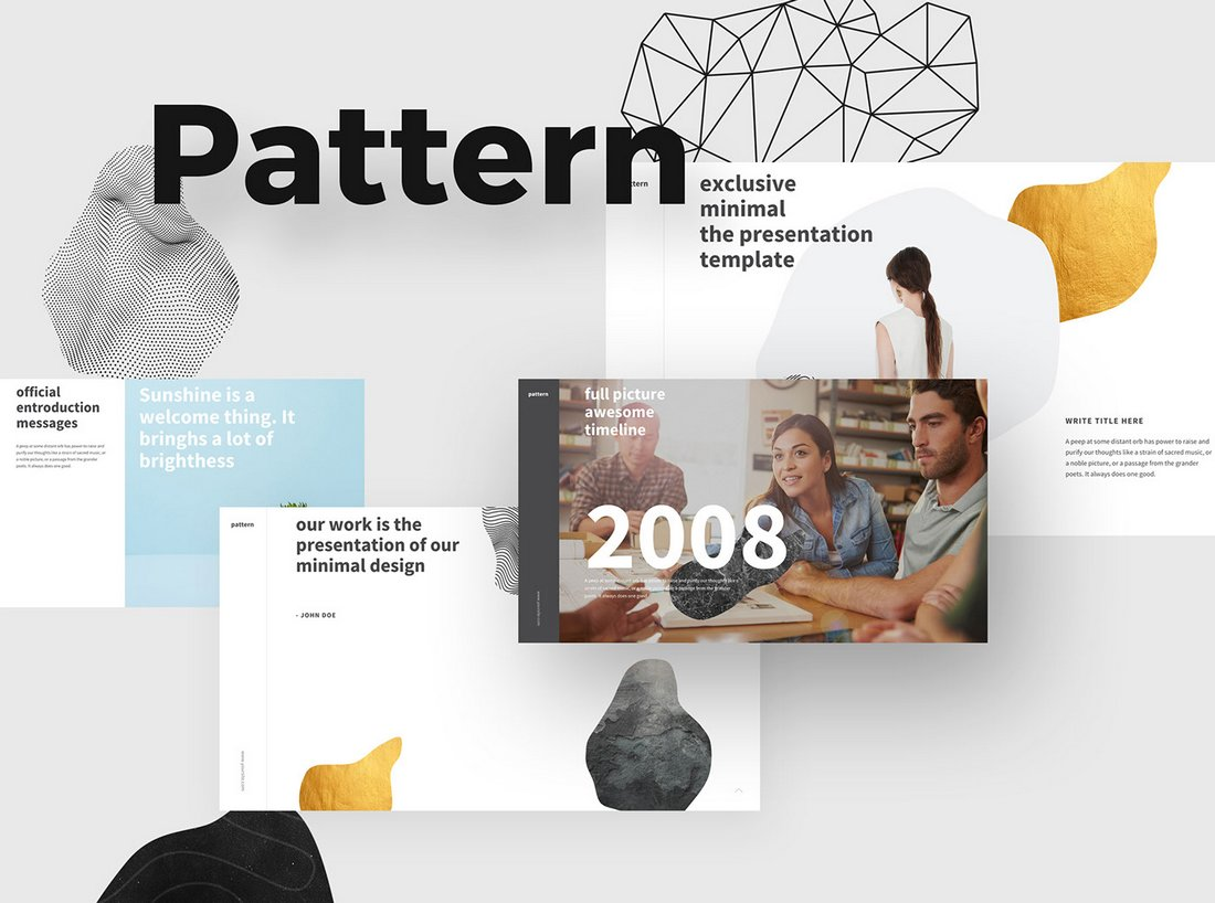 Pattern-Free-PowerPoint-Template 50+ Best PowerPoint Templates of 2020 design tips