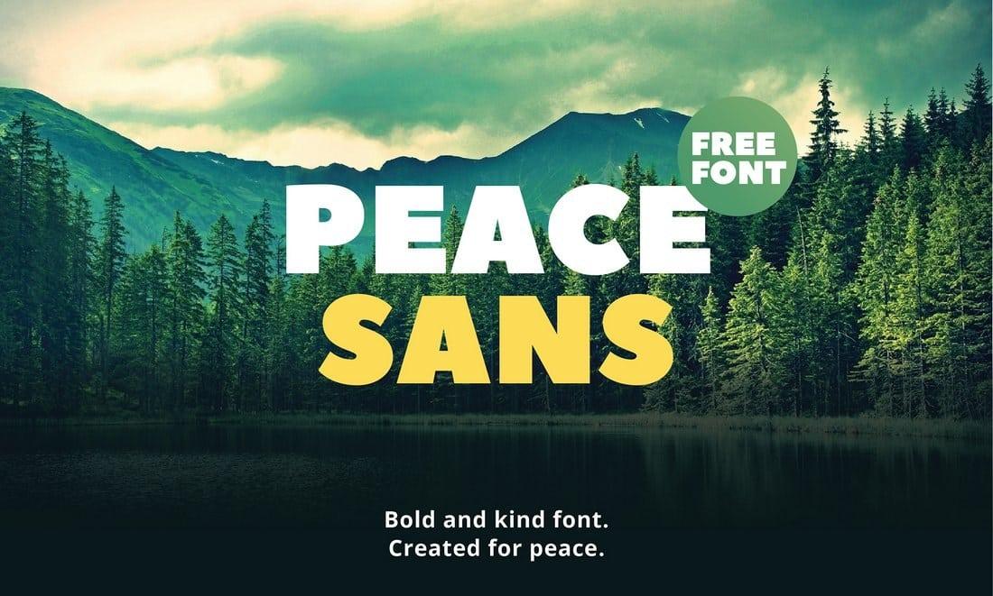 Peace Sans - Bold Font