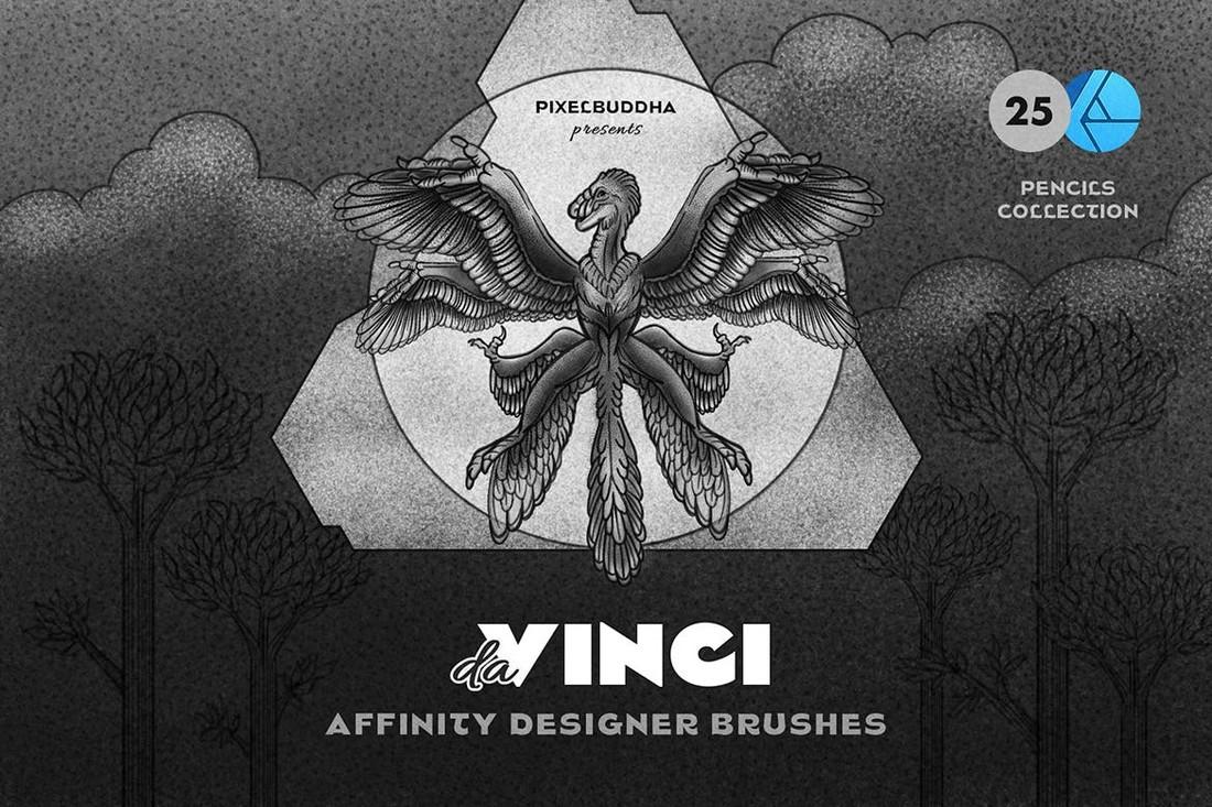 Pencil Affinity Designer Brushes