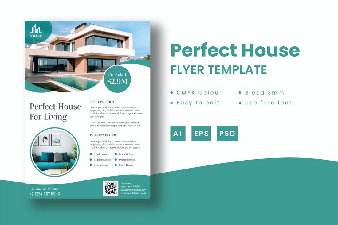 Perfect House - Sale Flyer Template