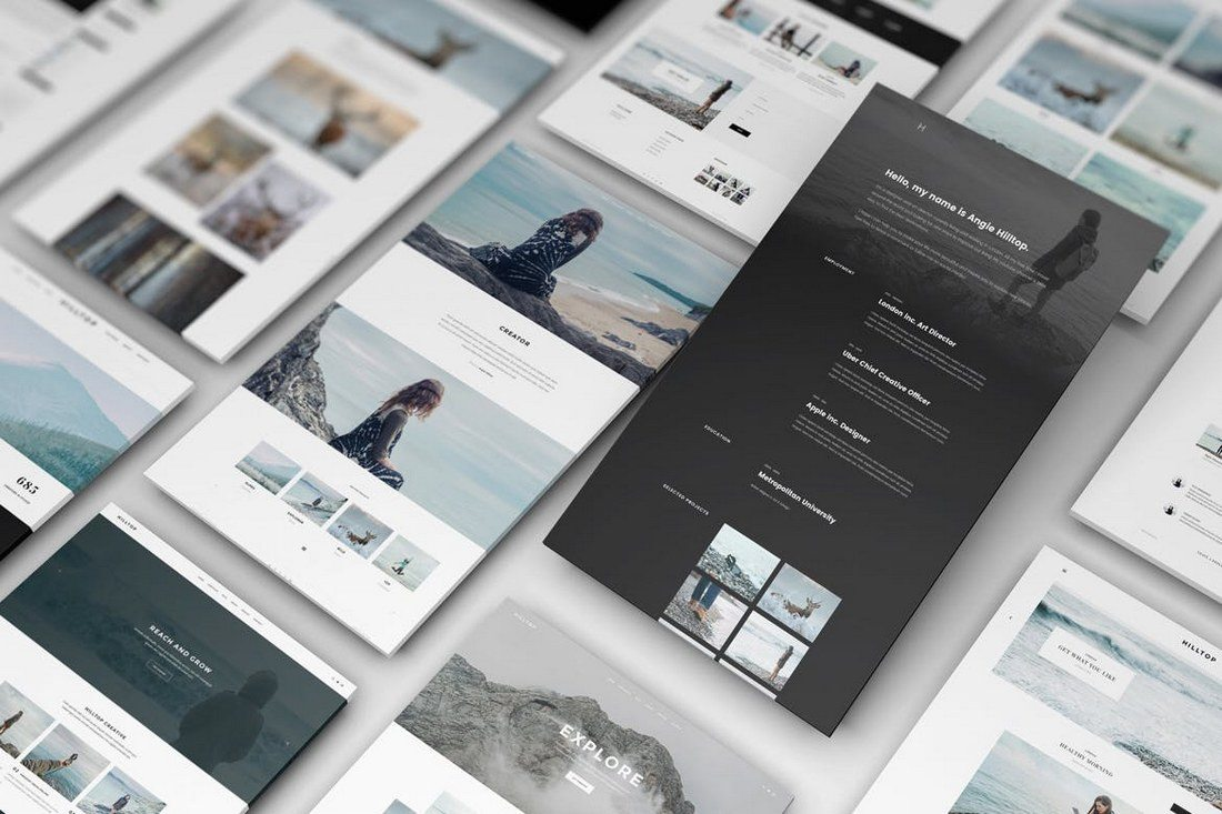 Perspective-Web-Mockup-16 40+ Best Website PSD Mockups & Tools 2020 design tips