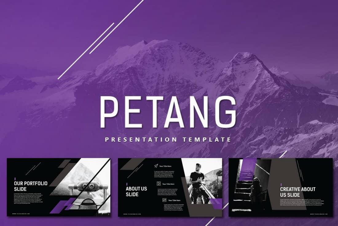 Petang - Free Keynote Presentation Template