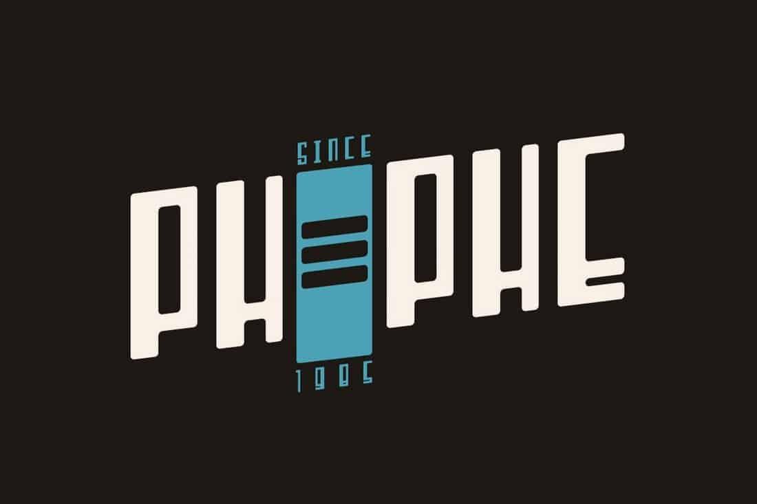 Phephe - Unique Vintage Font