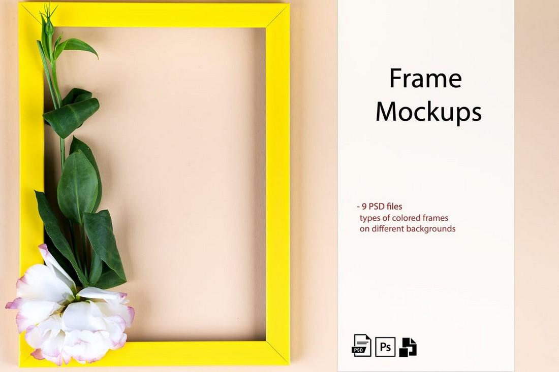 Photo Frame Mockup Templates Kit