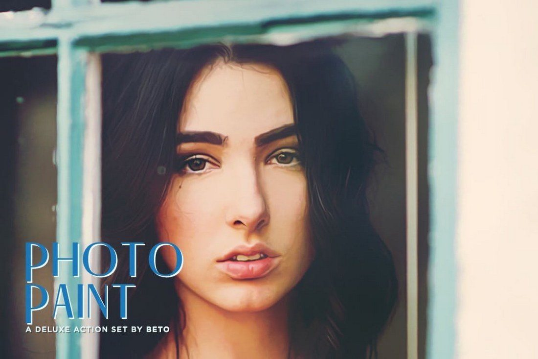 Photo-Paint-Action 20+ Best Portrait Photoshop Actions design tips