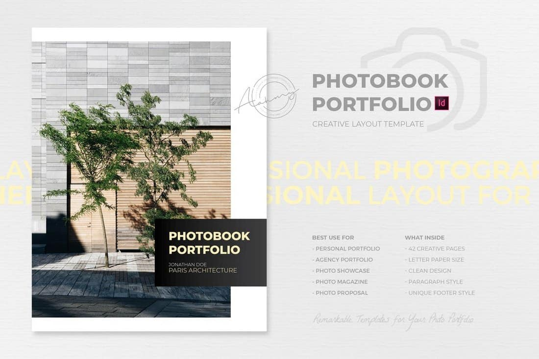 PhotoBook & Portfolio Book Template