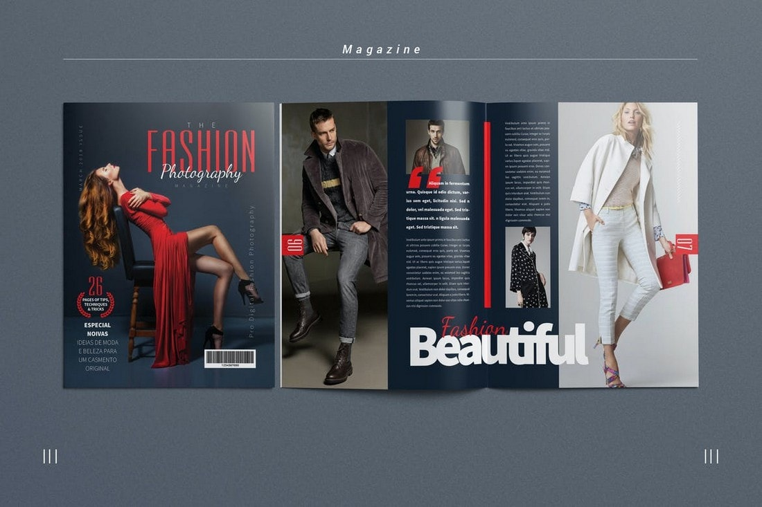 Photography-Magazine-InDesign-Template 30+ Best InDesign Magazine Templates 2021 (Free & Premium) design tips