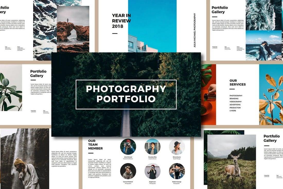 Photography Porfolio PowerPoint Template
