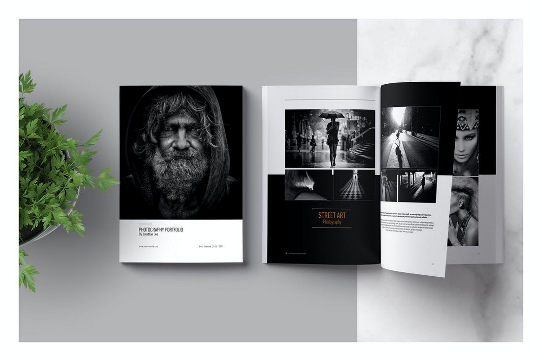 Photography Portfolio Lookbook Template