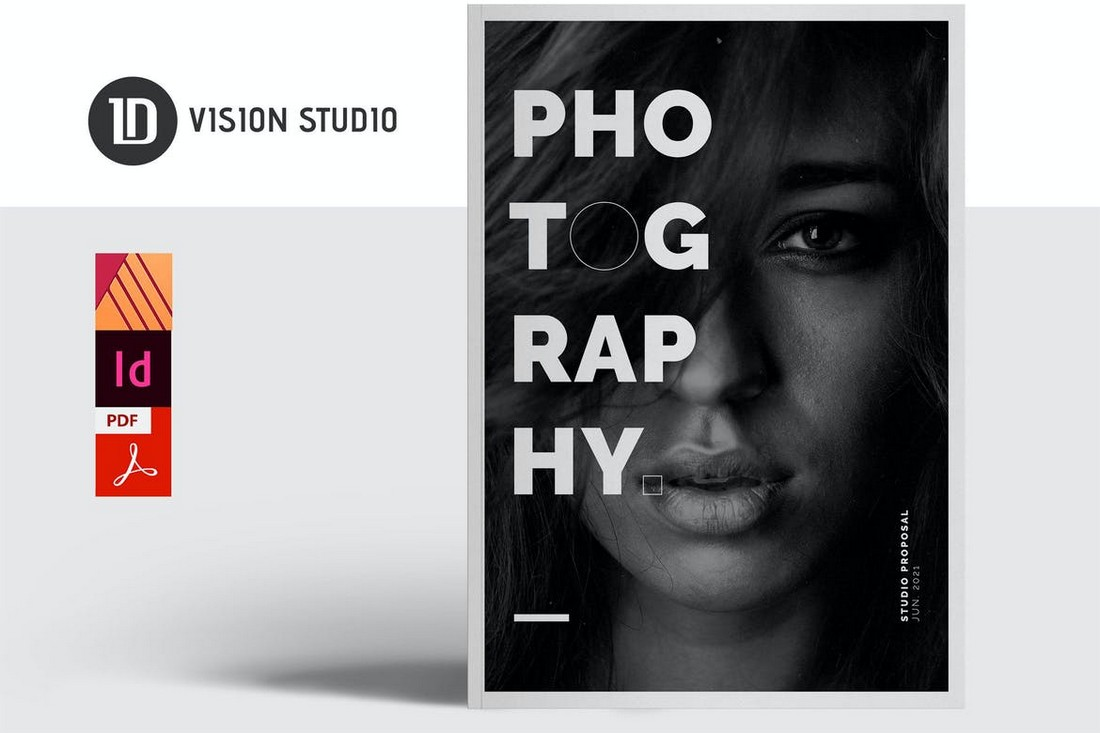 Photography Proposal Affinity Publisher Template