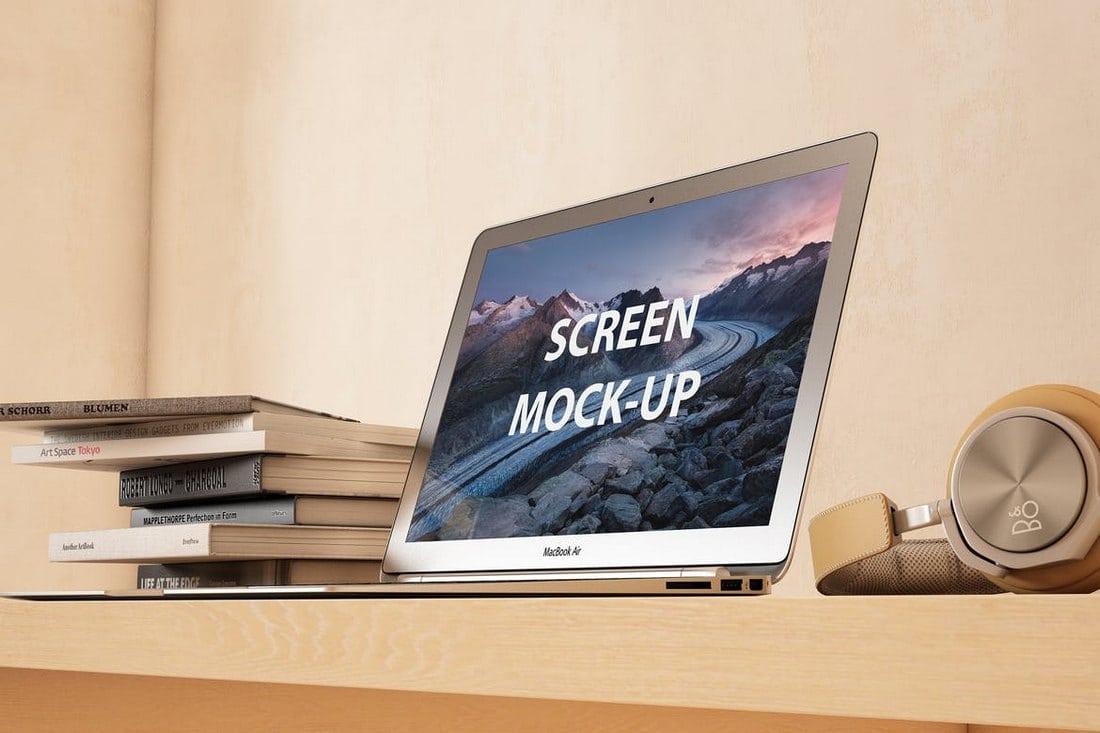 Photorealistic Laptop Mockup Set
