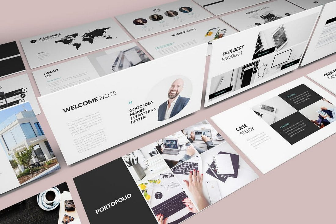 Pitch-Deck-Google-Slides-Template 35+ Best Google Slides Themes & Templates 2019 design tips