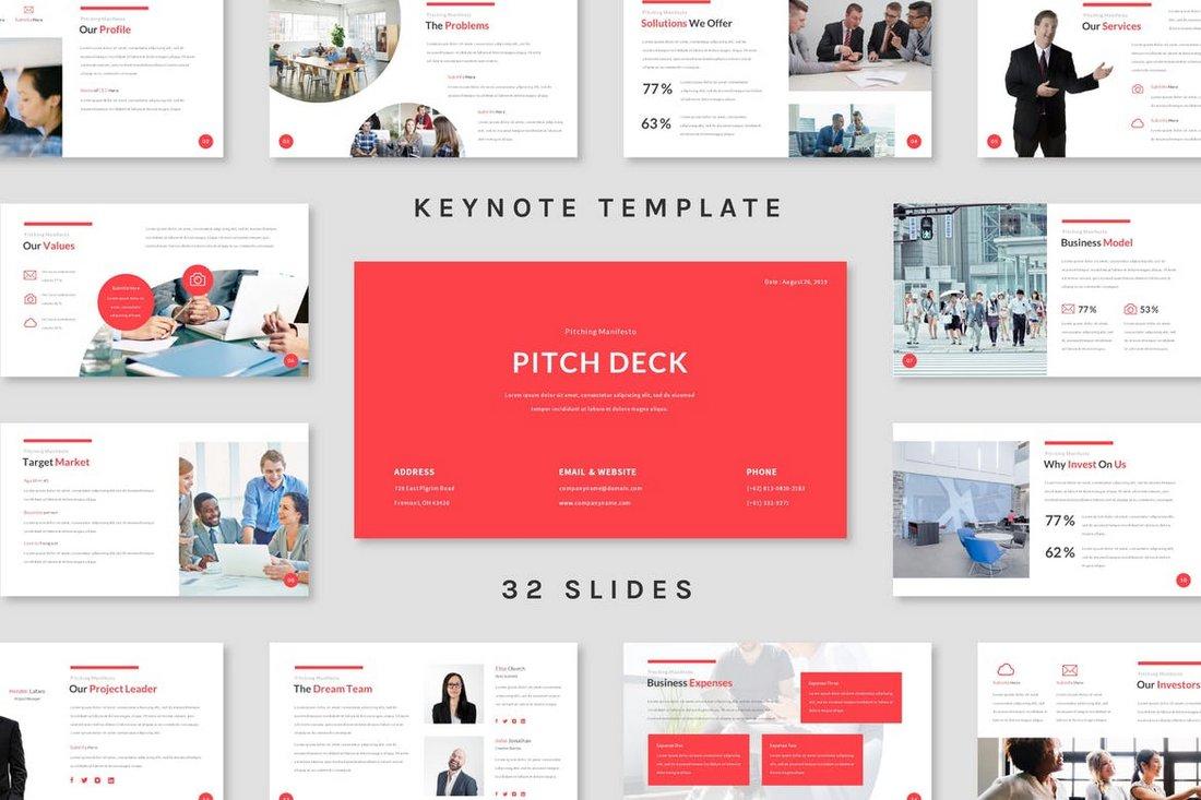 Pitch Deck - Keynote Template