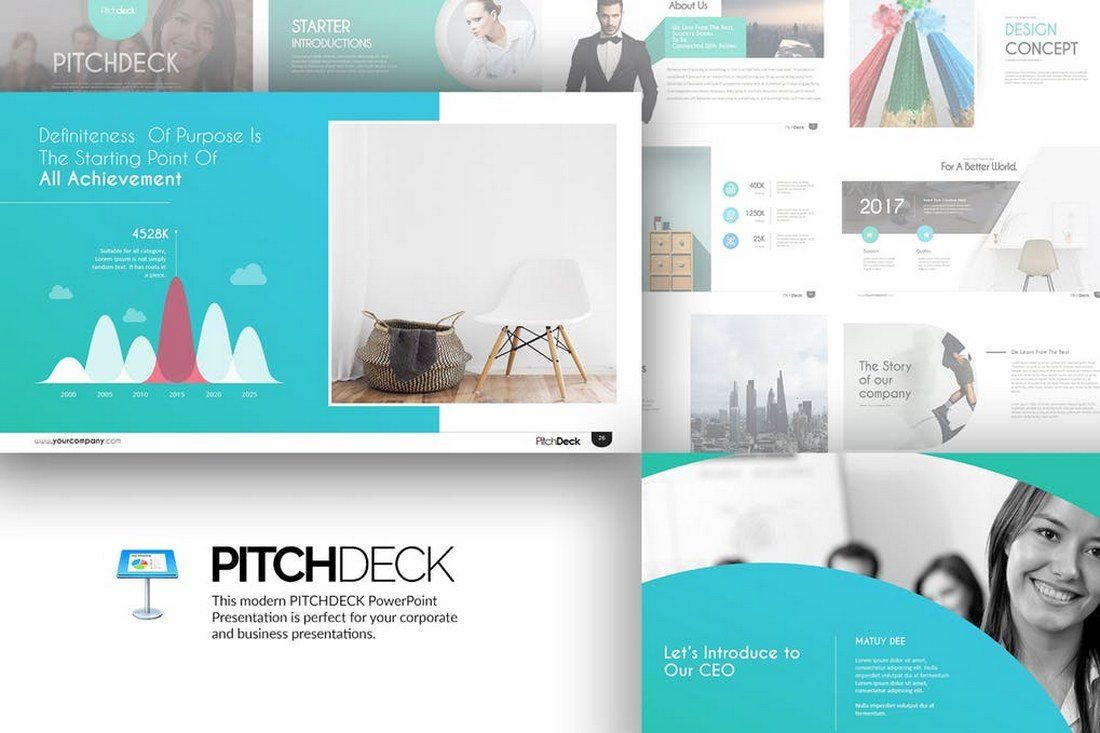 Pitch-Deck-Keynote-Template 30+ Best Keynote Templates of 2018 design tips