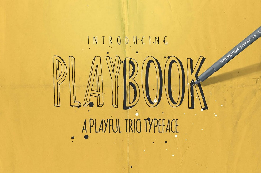 Playbook - Creative Font Family
