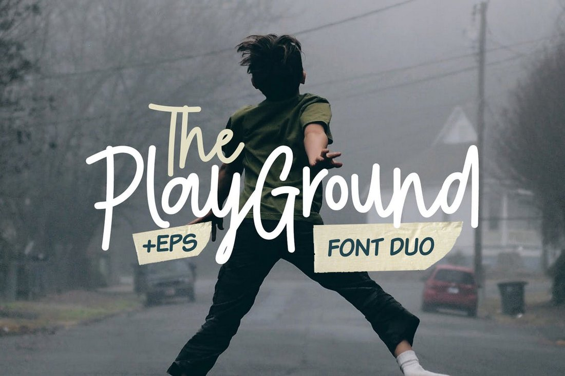 Playground Poster Font