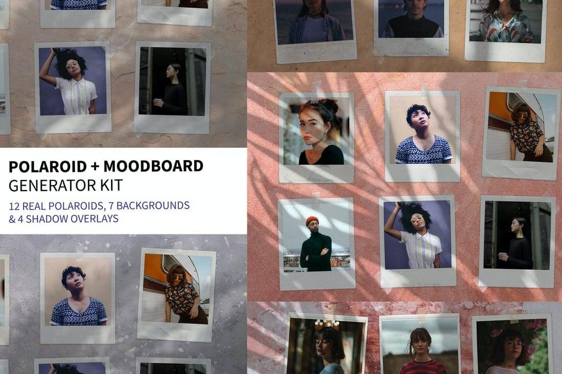 Polaroid & Moodboard Collage Generator Kit