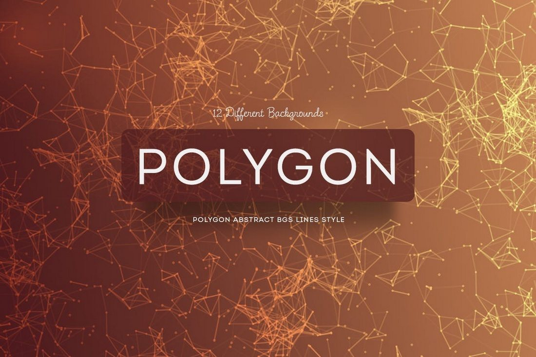 Polygon-Abstract-BGs-Lines-Style 20+ Beautiful Geometric & Polygon Background Textures design tips