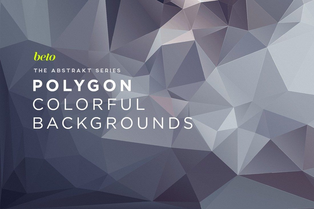 Polygon-Abstract-Backgrounds-V2 20+ Beautiful Geometric & Polygon Background Textures design tips