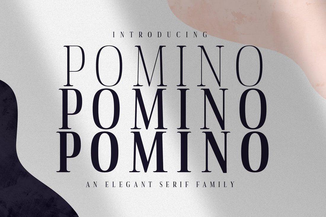 Pomino - Modern Serif Font Family