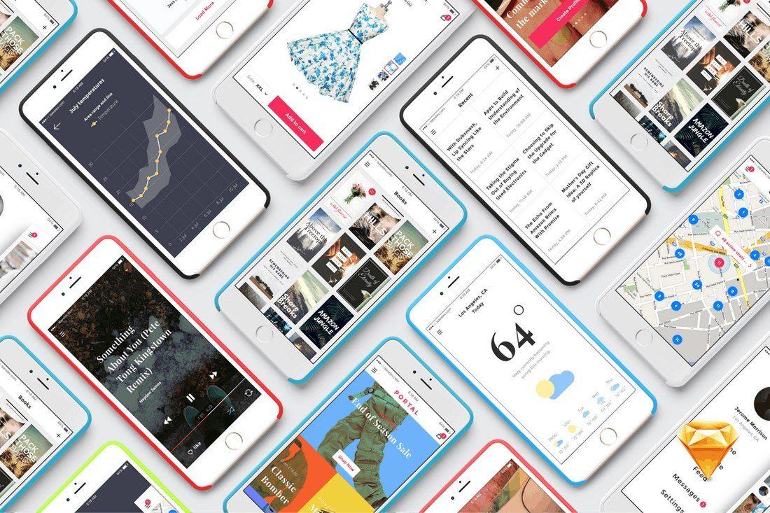 Portal-UI-Pack-Sketch-App 40+ Best Sketch Templates of 2020 design tips  Inspiration|sketch|templates