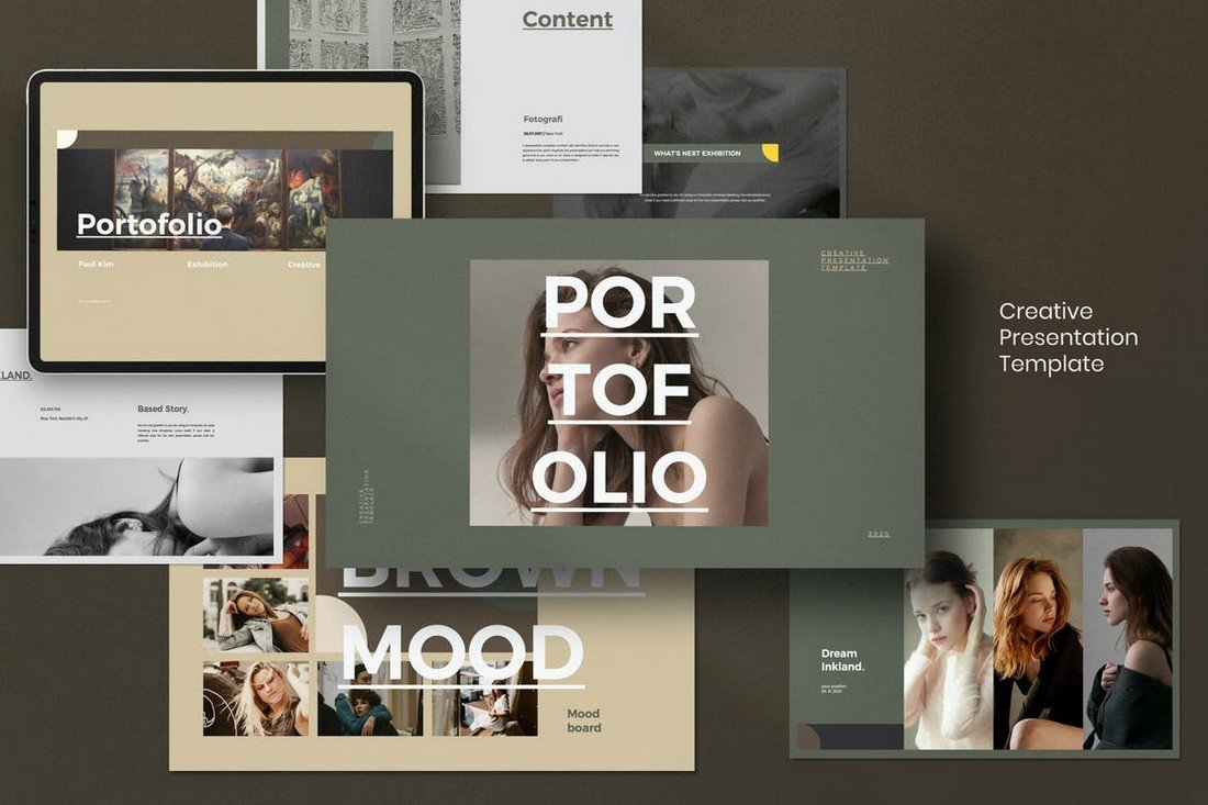 Portfolio - Fashion Lookbook PowerPoint Template