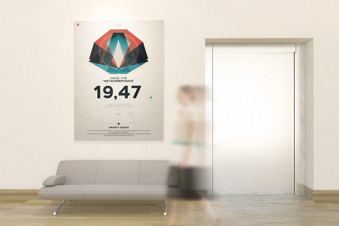 Poster-And-Art-Wall-Mockup 30+ Best Poster Mockup Templates 2021 design tips