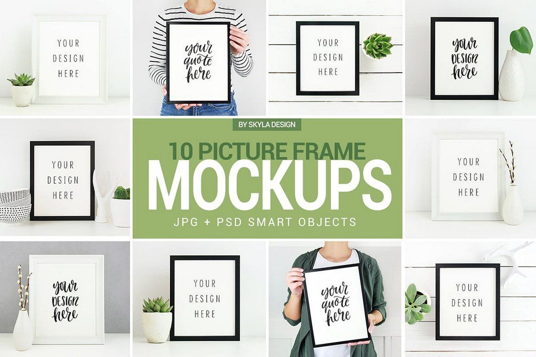 Poster-Picture-frame-mockup-photos 30+ Best Poster Mockup Templates 2021 design tips