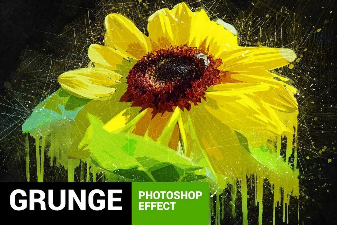 Posterum-Grunge-Painting-Photoshop-Action 20+ Best Watercolor Photoshop Actions design tips