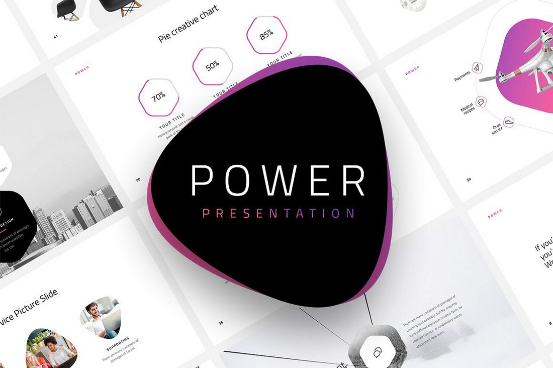 Power-Dynamic-Animated-PowerPoint-Template 30+ Animated PowerPoint Templates (Free + Premium) design tips