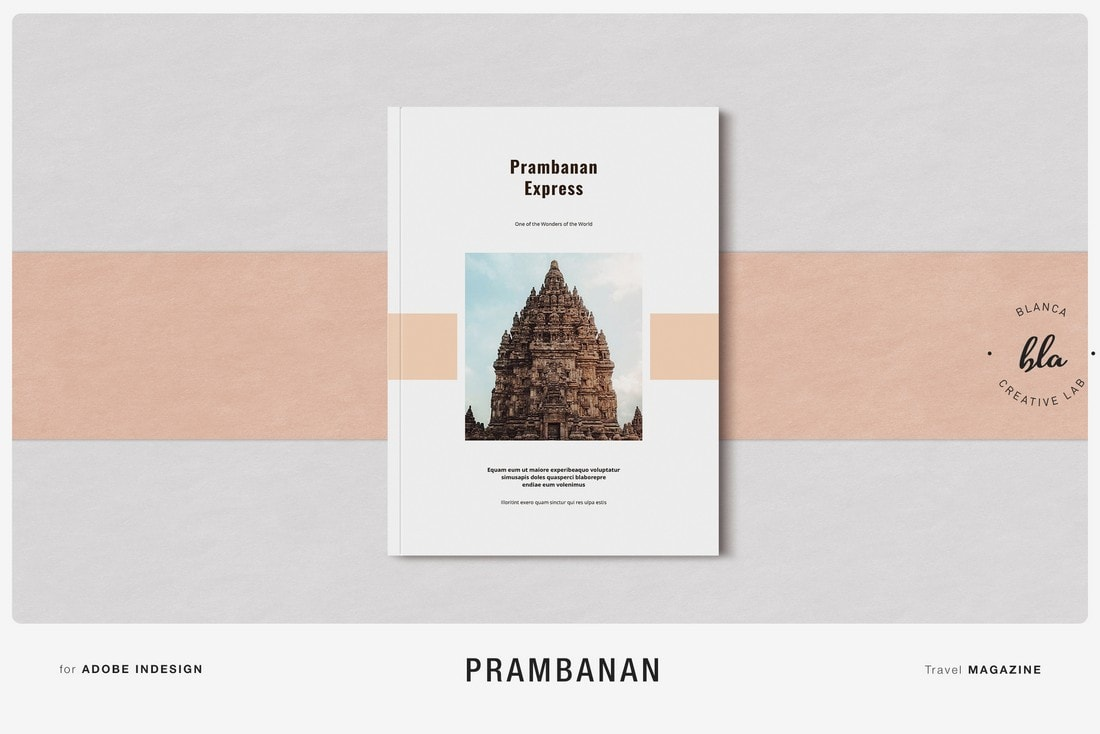 Prambanan - Free InDesign Magazine Template