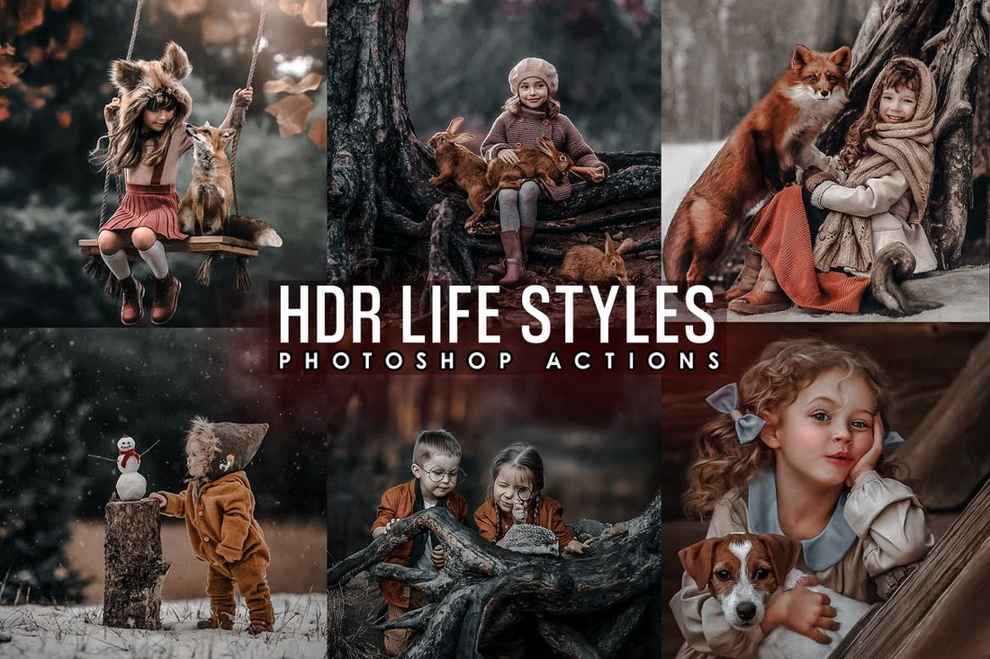 Pro HDR Photoshop Actions for Lifestyle Photography