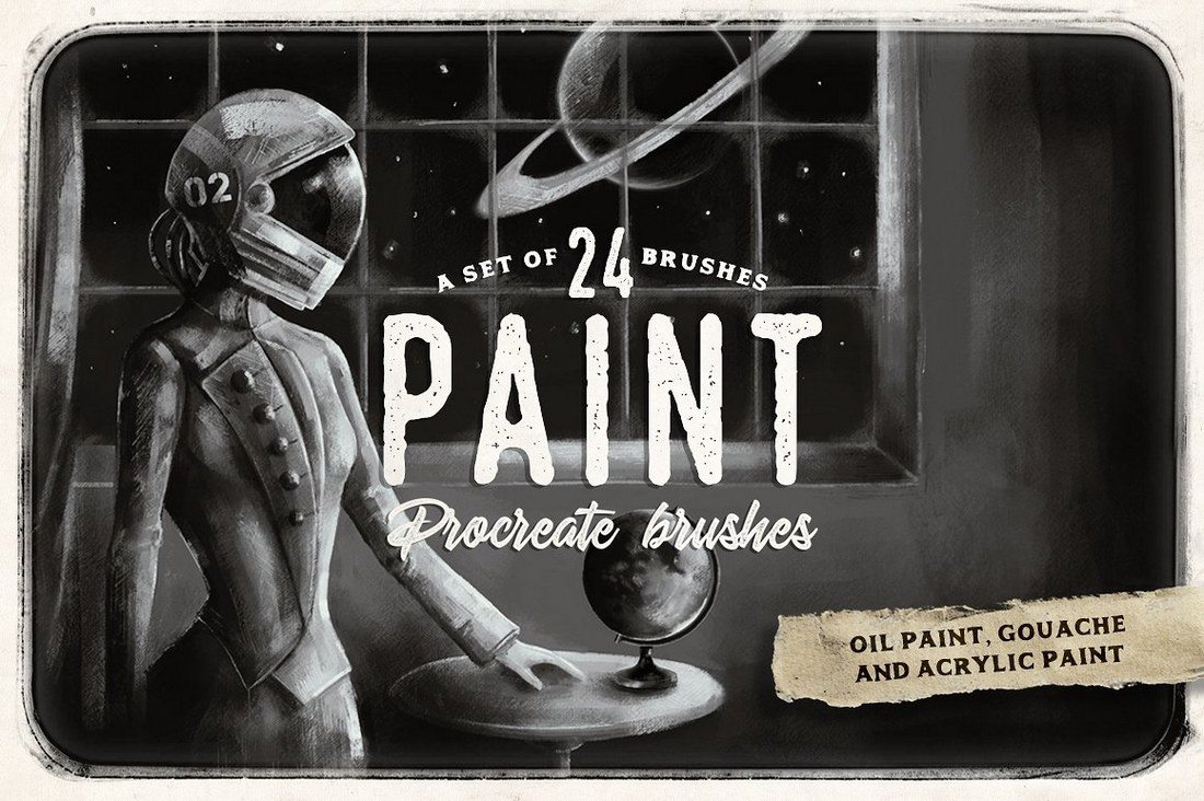 Procreate-paint-brushes 30+ Best Procreate Brushes design tips