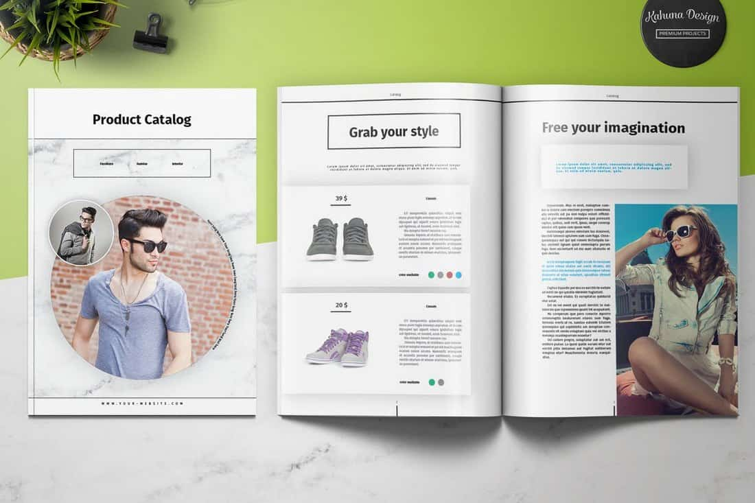 Product 4 Page Brochure Template