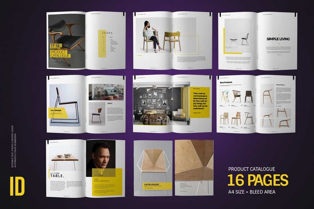 Product Catalogue InDesign Template