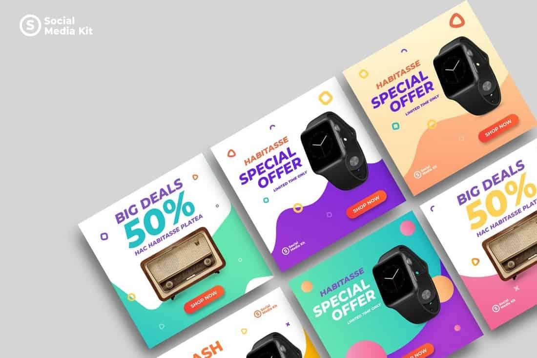 Product Promotion Social Media Kit