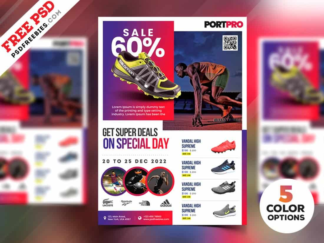 Product Sale Free Flyer Template