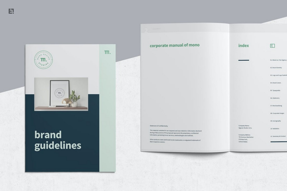 Professional-Brand-Manual-Brochure-Template 20+ Best Brand Manual & Style Guide Templates 2020 (Free + Premium) design tips