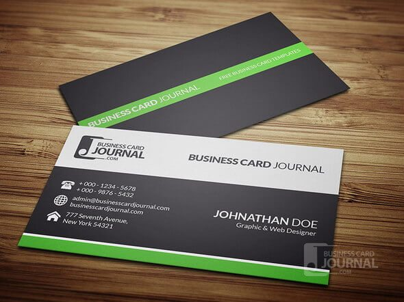 Corporate Creative Business Card Mockups Design Shack - Web design business cards templates