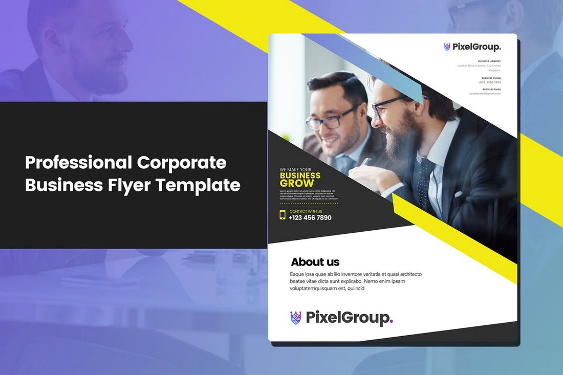 20 business flyer templates word psd kinginexile 20 business flyer templates word psd flashek