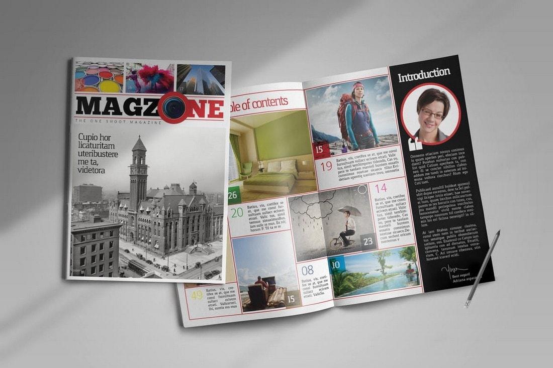 Professional-InDesign-Magazine-Template 30+ Best InDesign Magazine Templates 2021 (Free & Premium) design tips