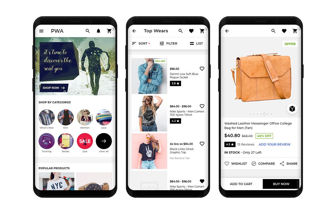 Progressive Web App for WooCommerce