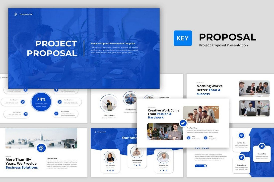 Project Proposal - Business Keynote Template