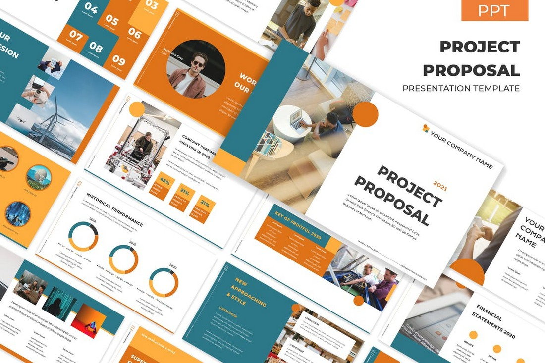 Project Proposal - Colorful PowerPoint Template