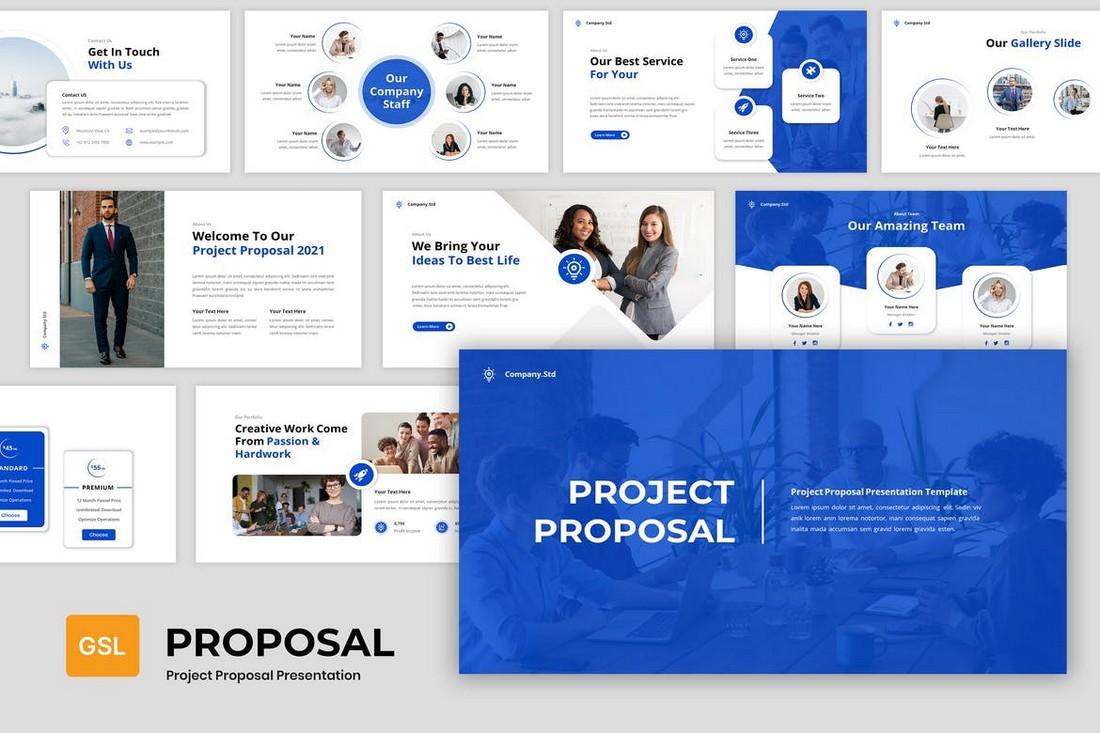 Project Proposal - Google Slides Template