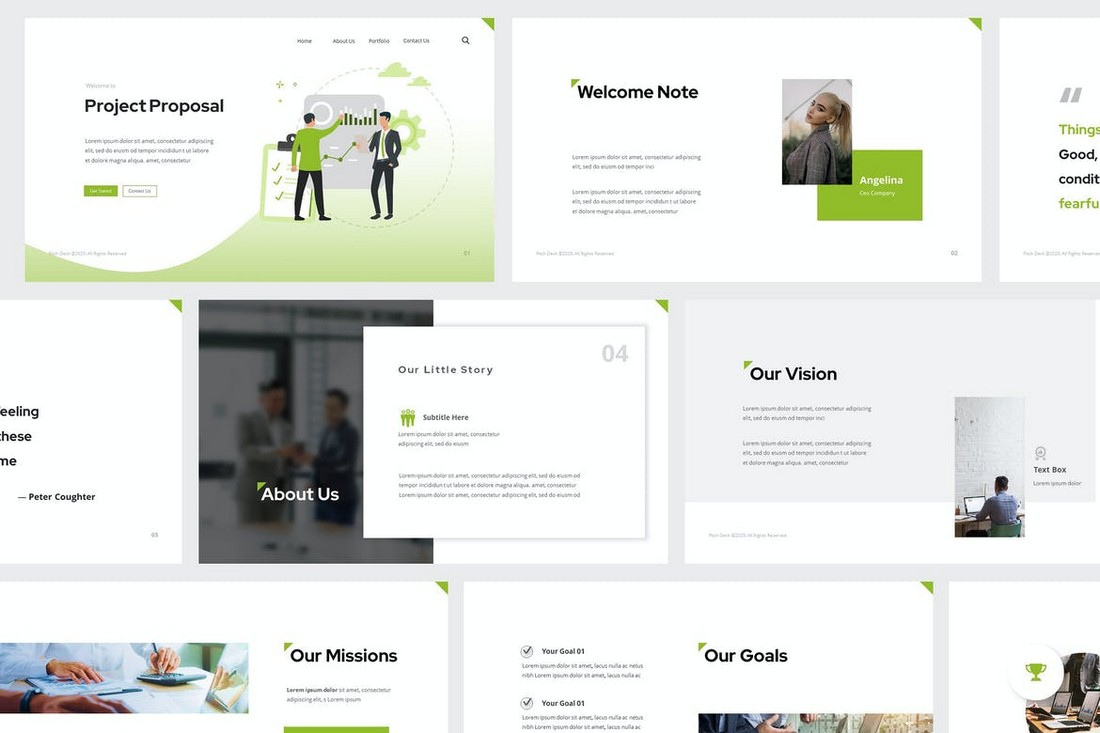 Project Proposal Pitch Deck PowerPoint Template